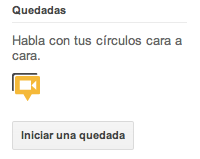 hangouts de google +